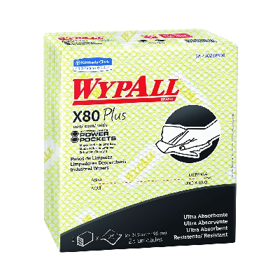 WypAll X80 Plus Amarillo