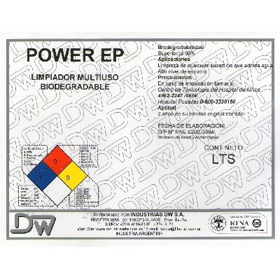 Desengrasante Power EP
